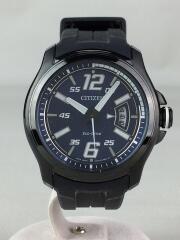 Eco-Drive/エコドライブ/ソーラー腕時計/アナログ/ラバー/AW1354-07L