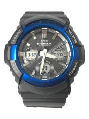 ソーラー腕時計・G-SHOCK/ジーショック/GAW-100B-1A2JF/デジアナ/ラバー