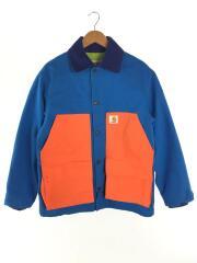 Michigan Chore Coat/ジャケット/L/コットン/ブルー/オレンジ/バックロゴ