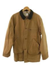 90s/ハンティングジャケット/USA製/カバーオール/ジャケット/M/コットン/キャメル/アウトドア/