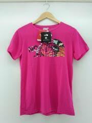 Tシャツ/L/ポリエステル/PNK/アウトドア/BOTANICAL TEE/ロゴ半袖Tシャツ/