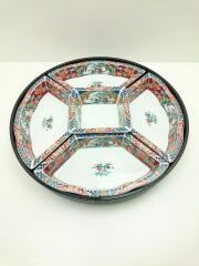 皿/5点セット/マルチカラー/有田焼/京錦/昇龍窯