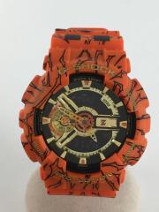 カシオ/ドラゴンボールZ/G-SHOCK/GA-110JBD/クォーツ腕時計/デジタル/ラバー