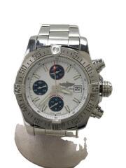 ブライトリング/腕時計/アナログ/--/SLV/WHT/シルバー/A13381/ラグジュアリー/メンス