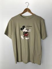 Tシャツ/L/コットン/BEG