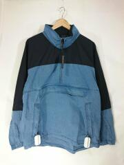 Indigo Mountain Wind Pullover/M/コットン/IDG