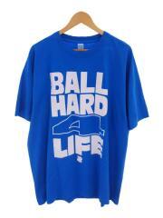 Tシャツ/XL/コットン/BLU