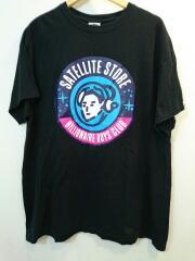 Tシャツ/XL/コットン/ブラック