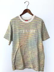 18SS/STATIC STRIPE TOP/Tシャツ/M/コットン