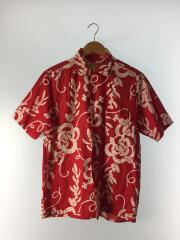 アロハシャツ/S/--/RED/総柄
