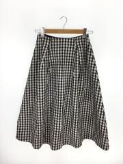 スカート/38/ポリエステル/BLK