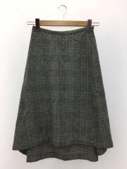 スカート/S/ウール/チェック
