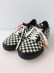 ローカットスニーカー/40/BLK/Off-White Vulc Checkered Black/White