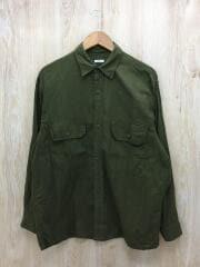 21SS/ベタシャンCPOシャツ/長袖シャツ/2/コットン/KHK