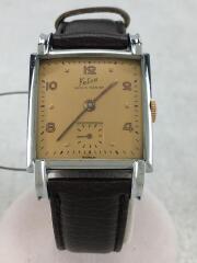 felca/手巻き腕時計/アナログ/--/GLD/BRW/250 36