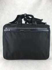 エースジーンレーベル/ブリーフケース/ナイロン/BLK/無地/ビジネスバッグ