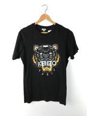 Tシャツ/S/コットン/BLK/ケンゾー