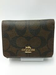 3つ折り財布/PVC/CML/総柄/コンパクトウォレット/F41302