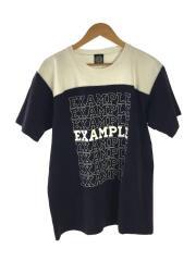 Tシャツ/XL/コットン/NVY
