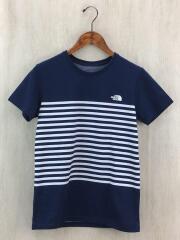 Tシャツ/M/コットン/NYV/ボーダー/ショートスリーブセオアルファボーダーTシャツ