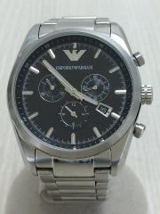 電池交換済/クォーツ腕時計/クロノグラフ/日付/AR-6050/アナログ