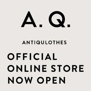 9/1(木)アンティクローズの公式オンラインショップが楽天市場にオープン!