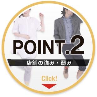 ポイント【2】店舗の強み・弱み
